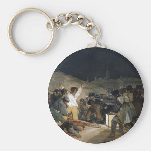 El tercero de mayo de 1808 llavero redondo tipo pin