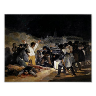 El tercero de mayo de Francisco de Goya Póster