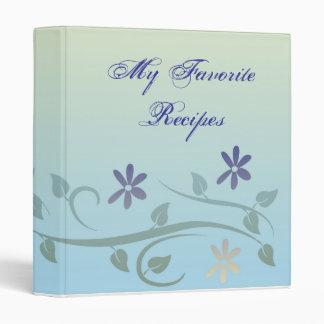 El terciopelo azul florece libro de la receta