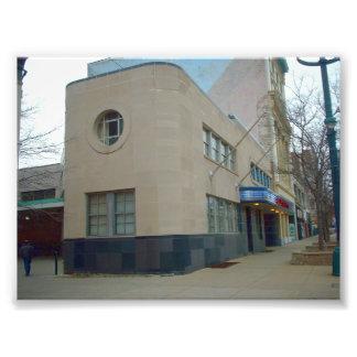 El terminal anterior del galgo en el búfalo NY Arte Con Fotos
