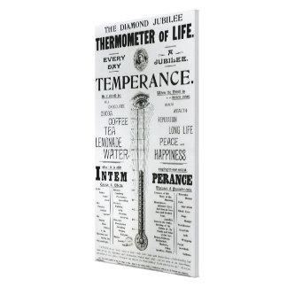 El termómetro del jubileo de diamante de la vida lona estirada galerías