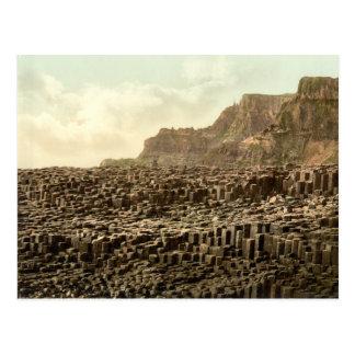 El terraplén del gigante, condado Antrim Postal
