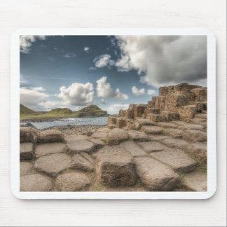 El terraplén del gigante, Irlanda del Norte Alfombrillas De Raton