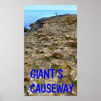 el terraplén del gigante poster