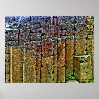 El terraplén Irlanda del Norte del gigante Impresiones