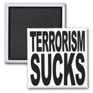 El terrorismo chupa iman de frigorífico
