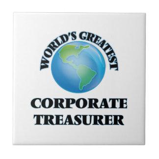 El tesorero corporativo más grande del mundo tejas
