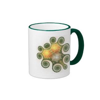 El tesoro de la flora taza de dos colores