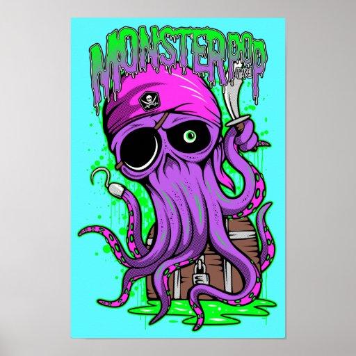 El tesoro de Skully Poster