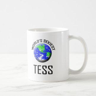 El Tess más atractivo del mundo Tazas De Café