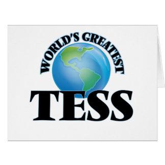 El Tess más grande del mundo Tarjetas
