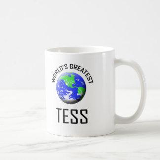 El Tess más grande del mundo Tazas