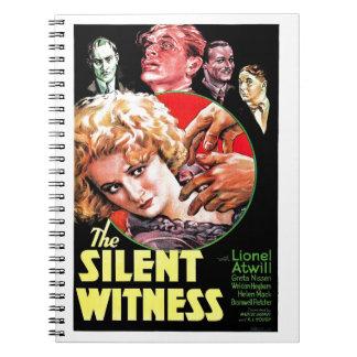 El testigo silencioso libreta