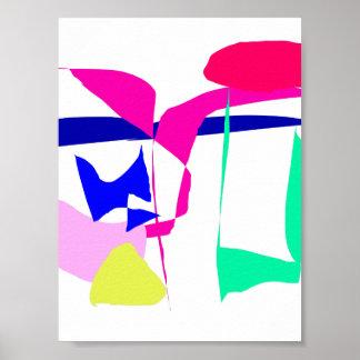 El testimonio alinea las charcas púrpuras que vuel posters