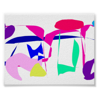 El testimonio alinea las charcas púrpuras que vuel poster