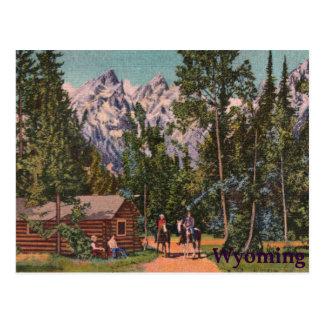 El Tetons - el Wyoming magníficos Postal