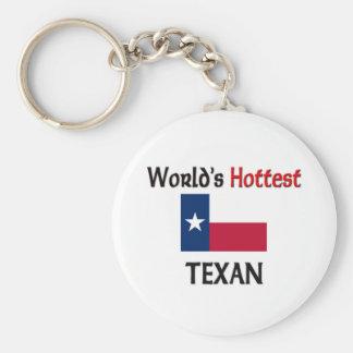 El Texan más caliente del mundo Llavero