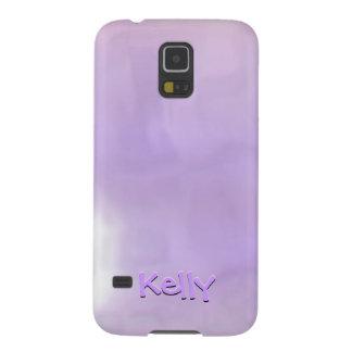 el texto 3d efectúa púrpura y el rosa remolinó funda galaxy s5