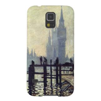 El Thames debajo de Westminster - Claude Monet Fundas Para Galaxy S5