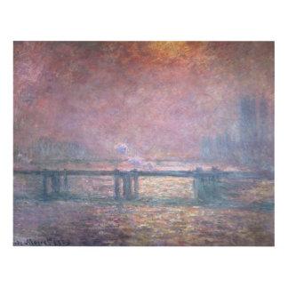 El Thames en Charing Cross, 1903