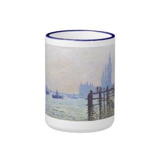 El Thames en Westminster Claude Monet Taza De Dos Colores