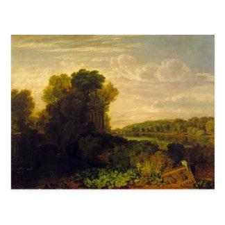 El Thames en Weybridge, c.1807-10 Tarjetas Postales