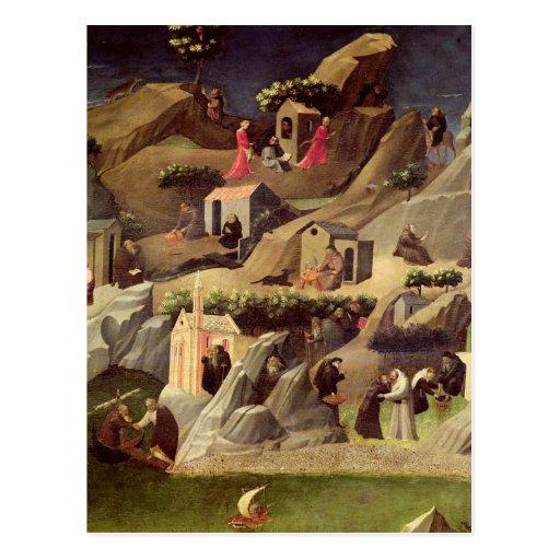 El Thebaid, c.1410 Tarjetas Postales