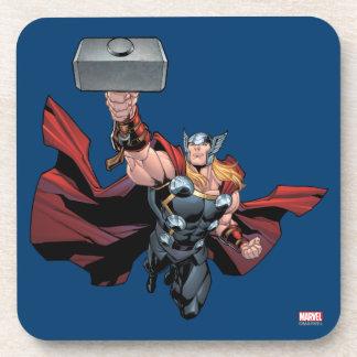 El Thor monta Posavasos De Bebidas