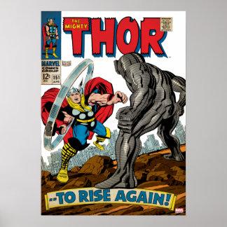 El Thor poderoso #151 cómico Póster