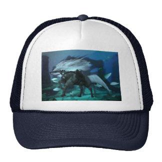El tiburón 2 del caballo gorras de camionero
