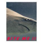 ¡El tiburón me muerde!!!! Membrete Personalizado