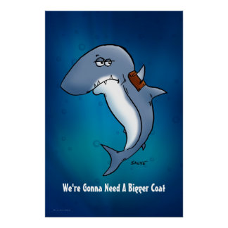 El tiburón va a necesitar un poster más grande del