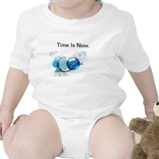 El tiempo ahora es - productos camisetas