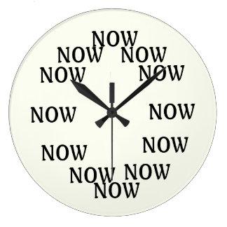 El tiempo ahora es reloj