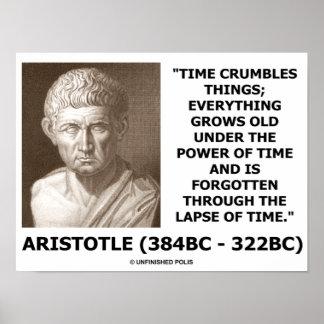 El tiempo de Aristóteles desmenuza el poder de las Impresiones