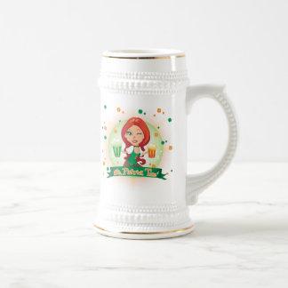 El tiempo de St Patrick Tazas De Café