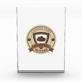 El tiempo del café satisface sí el logotipo