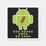 El tiempo del helado está aquí (el androide de Dro Servilleta De Papel