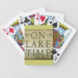 el tiempo del lago baraja de cartas