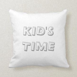 El tiempo del padre del tiempo del niño cojín
