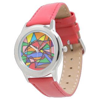 el tiempo es colorido relojes