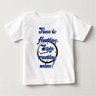 El tiempo es efímero. ¡Pare el perder de la mina! T Shirt