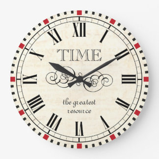 El tiempo es el steampunk más grande del vintage d reloj redondo grande