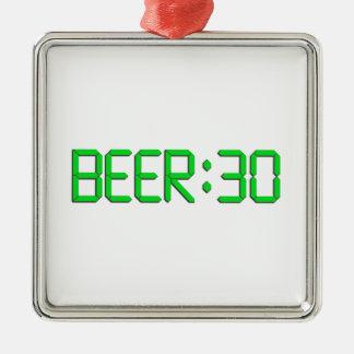 El tiempo es la cerveza 30 ornamentos de reyes