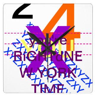 El tiempo es PLOMO Relojes De Pared