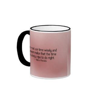 El tiempo es siempre a la derecha hacer a la derec taza