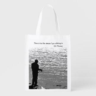 El tiempo es solamente la corriente bolsa reutilizable