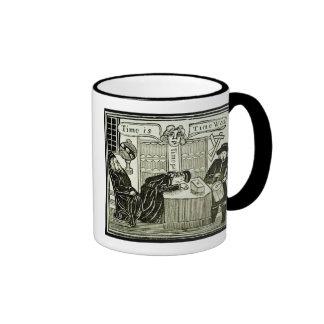 """El """"tiempo es, tiempo era"""", copia de un ejemplo de taza de café"""