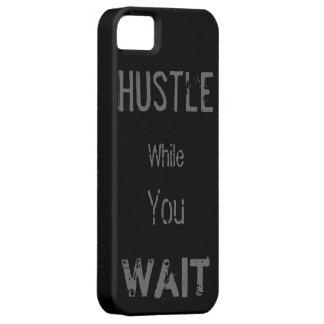 El tiempo espera nadie funda para iPhone 5 barely there