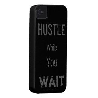 El tiempo espera nadie iPhone 4 Case-Mate coberturas